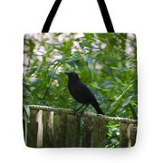 Raven In The Wild Tote Bag