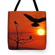 Raven Maniac Tote Bag
