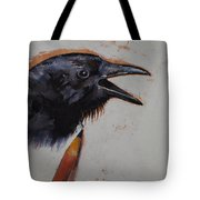 Raven Sketch Tote Bag