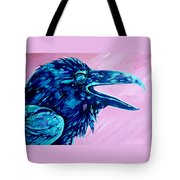 Raven Song Tote Bag