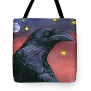 Raven Steals The Moon - Moon What Moon? Tote Bag