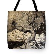 Ravenlight Tree Tote Bag