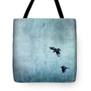 Ravens Flight Tote Bag by Priska Wettstein