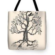 Raven's Magic Oak Tote Bag