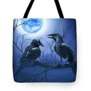 Raven's Moon Tote Bag