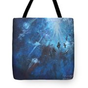 Ravens Of The Blue Tote Bag