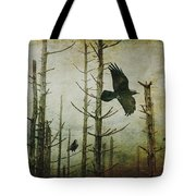 Ravens Of The Mist Artistic Expression Tote Bag