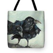 Raven's Perch Tote Bag
