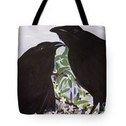 Ravens Song Tote Bag