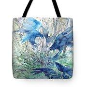 Ravens Wood Tote Bag