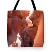 Ravine Walk - Antelope Canyon Tote Bag