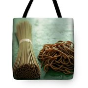 Raw And Cooked Pasta Tote Bag