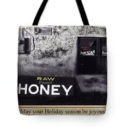 Raw Desert Honey Christmas Card Florence Arizona 2007 Tote Bag