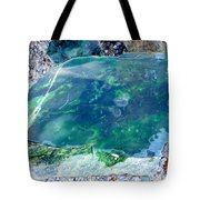 Raw Jade Rock Tote Bag