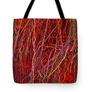 Raw Nerves Tote Bag