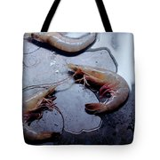 Raw Shrimp Tote Bag