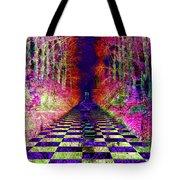 Rawa River Abstract Art Tote Bag by Mary Clanahan