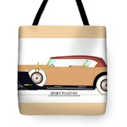 Raymond H Dietrich Packard Sport Phaeton Concept Tote Bag