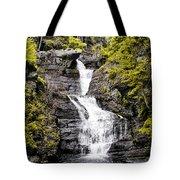 Raymondskill Falls In Milford Pa Tote Bag