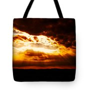 God's Hope In Skyscape Tote Bag