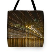 Rays Over The Bay Tote Bag
