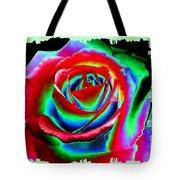 Razzle Dazzle Rose Tote Bag