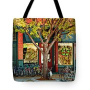 Re-cycle Bike Shop Tote Bag