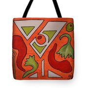 Red Hot Chili Pepper Martini With A Twist Tote Bag