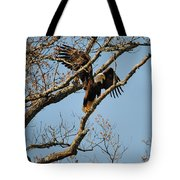Reach For New Heights Tote Bag