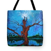 Reach For The Light My Sister Tote Bag