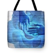 Reaching In The Light  Tote Bag