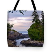 Reaching Out To The Ocean Tote Bag
