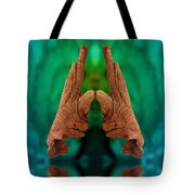 Reaching Peace Tote Bag
