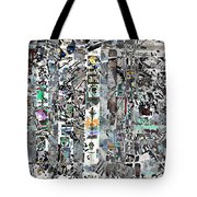 Reaching Shadow Silver Art Tote Bag by Mary Clanahan