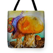 Reaching The Summit Tote Bag