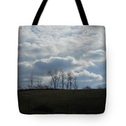 Reaching To The Clouds Tote Bag