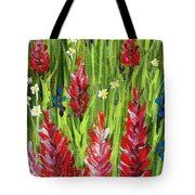 Reaching Up Tote Bag