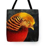 Read And Yello Bird Tote Bag
