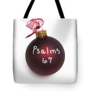 Read Psalms 67 Tote Bag