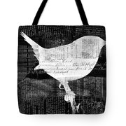 Reader Bird Tote Bag