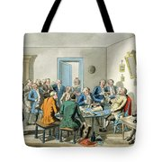 Reading A Will Tote Bag