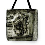 Reading Lion Tote Bag