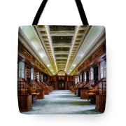 Reading Room In The Library Of Congress Tote Bag