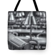 Reading Stand And Tables II Tote Bag