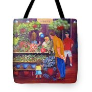 Reading Terminal Market Flowers Tote Bag