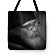 Reading The News On-line Tote Bag