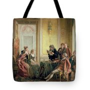 Reading The Will Tote Bag