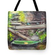 Ready For A Row Tote Bag