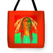 Ready For Battle Tote Bag by Johanna Elik