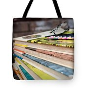 Ready For Reading And Art Tote Bag